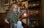 From lighting to felting, Kristen Treuting likes to experiment with her favorite medium, gourds.