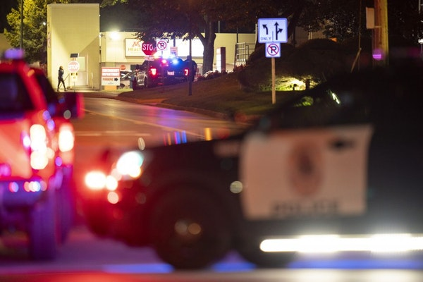 Edina police responded to reports of a shooting outside the M Health Fairview Southdale Hospital just before 9 p.m.