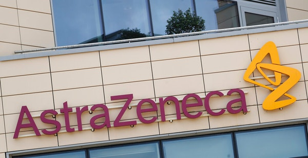 AstraZeneca offices in Cambridge, England.