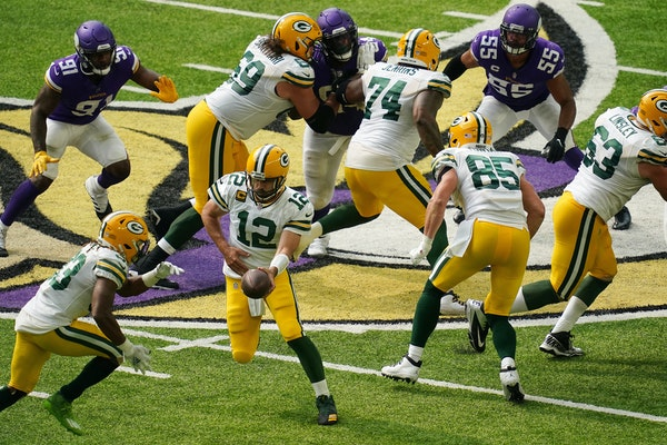 Hartman: Packers controlled the ball, and the game against Vikings