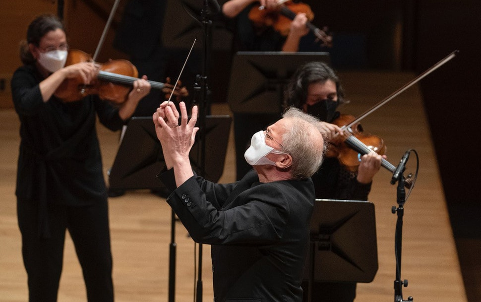 Osmo Vänskä conducted a livestreamed Minnesota Orchestra concert last weekend.