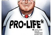 Sack cartoon: Pro-life*