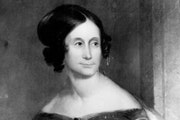 An 1818 portrait of Abigail Snelling Chaplin, whose first husband, Josiah Snelling, is the namesake of the fort at the confluence of the Minnesota and