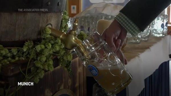 Bavarians hold toned-down Oktoberfest amid virus