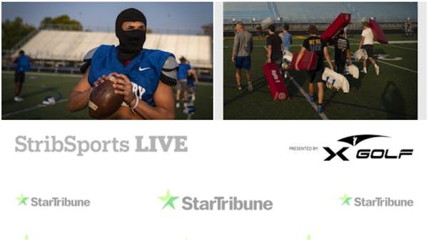 Watch: Minnesota's return of fall prep sports on StribSports Live