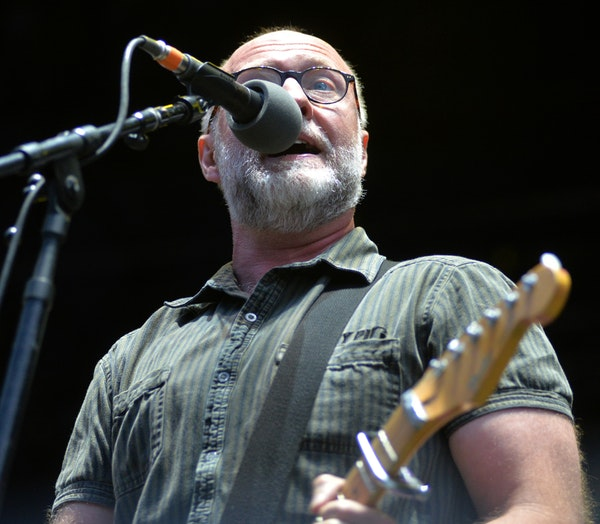 Bob Mould performed at the Minnesota State Fair Grandstand in 2014.