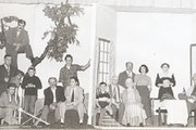 """The Grotto Players' 1947 performance of """"On Borrowed Times,"""" staged by Donald Singerman. The Grotto Players were a St. Paul nonprofessional thea"""