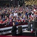 President Trump visited Duluth on Wednesday September 30, 2020 as one of multiple campaign stops in Minnesota that day. The President spoke at Duluth