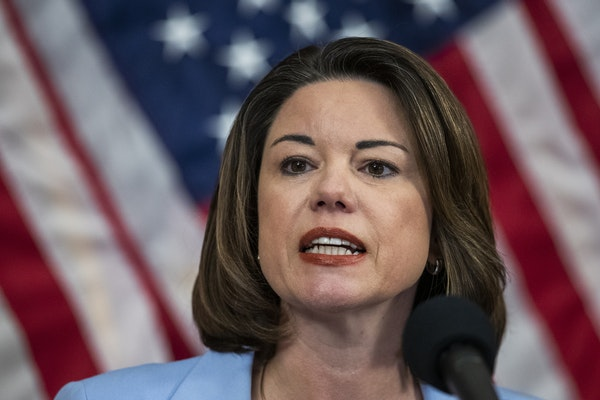 """U.S. Rep. Angie Craig's lawsuit contends that the postponement would violate federal law and result in """"direct, concrete, and irreparable injury"""" to M"""