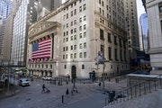 Big companies have held up better than small ones in the pandemic-induced recession. File photo of the New York Stock Exchange.