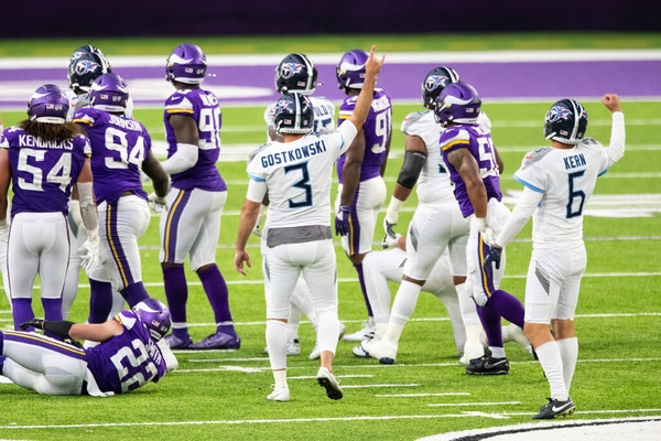 The Titans played the Vikings on Sunday. Two days later, both teams learned Tennessee had a COVID-19 outbreak.