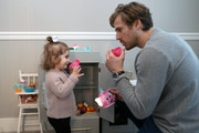 Nice off the ice: Wild's Foligno plays physical but at home he's a softy
