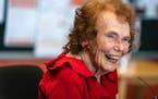 """Marjorie Johnson, Minnesota's famed """"Blue Ribbon Baker,"""" never baked for fun. She baked to win."""