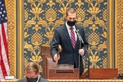 Senate President Jeremy Miller, R-Winona, adjourned the Minnesota Senate on Monday, Oct. 12., until audio problems could be resolved the start of the