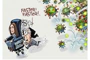 Sack cartoon: The Supreme Court seat push