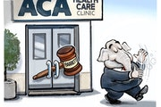 Sack cartoon: GOP's plan for the Affordable Care Act