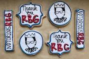 Rick Nelson • Star TribuneRuth Bader Ginsburg Cookies at PJ Murphy's Bakery.