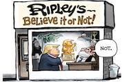 Sack cartoon: Believe it or not!