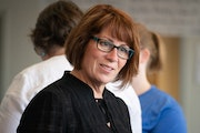 Erin Murphy, pictured in 2018, is now running for an open state Senate seat in St. Paul.