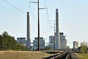 Xcel Energy's Sherco Power Plant in Becker, Minn.