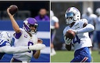 On a big day for Diggs, Vikings still struggling to replace him
