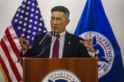 Tony Pham, acting director of U.S. Immigration and Customs Enforcement, took aim at local jurisdictions that don't cooperate with immigration offici