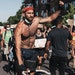 Adrian De Los Rios, during a protest in Minneapolis this summer. Submitted photo