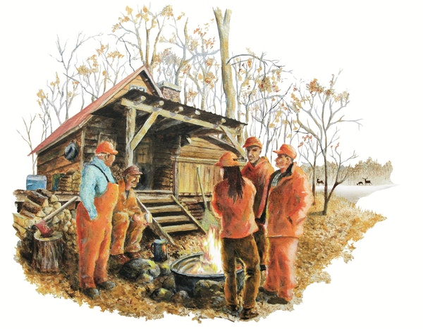Into the woods: Deer hunting camps will have different feel this season