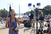 Brittany Wright at the March on Washington 2020.