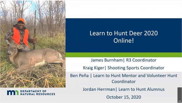 """From the YouTube video: """"Learn to Hunt Deer 2020: Class 10 - Butchering, processing, preserving your harvest (10/15/2020)"""""""