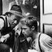 "Morgan Freeman and Brad Pitt in ""Seven."""