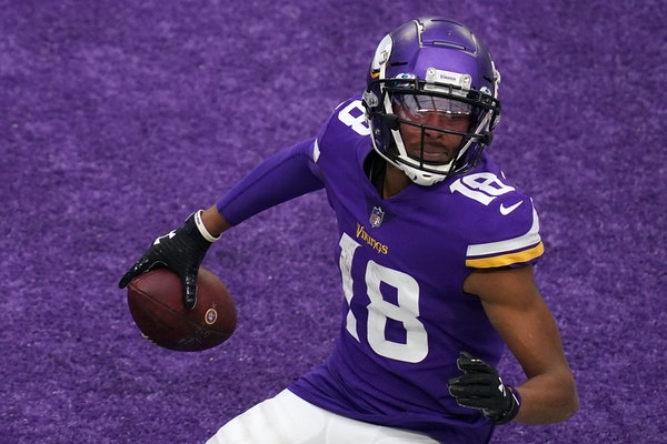 Vikings wide receiver Justin Jefferson