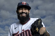 Don't let Sergio Romo's infectious smile fool you. The Twins reliever is a fierce competitor on the mound.
