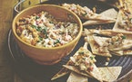 Fire-roasted Eggplant With Red Onion and Yogurt