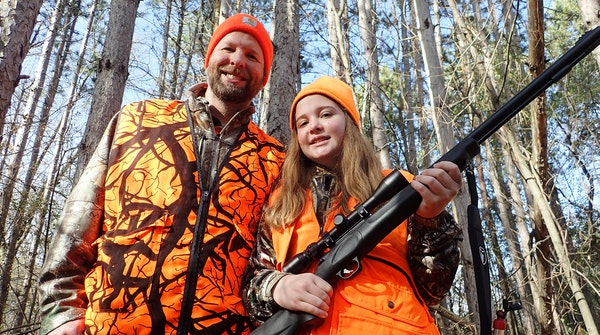 Father, daughter, deer: 'Such a good opportunity'