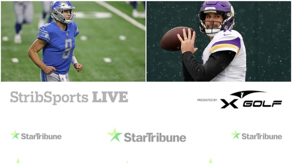 Watch: Vikings-Lions postgame show on StribSports Live