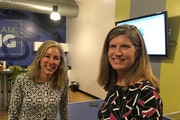 CEO Janet Dryer, left, and Colleen Kulhanek, the marketing vice president of Perforce Software of Minneapolis.