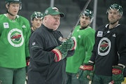 Coach Bruce Boudreau prepared his Wild team Tuesday for what will be its sixth consecutive postseason appearance.