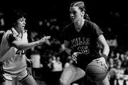 Sharpshooting Janet Karvonen set the state scoring record and led New York Mills to three Class A titles.