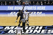 The Road to Minneapolis did in fact start here Tuesday night in Dayton, Ohio, as it has for every NCAA tournament since 2001.