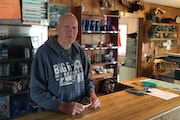 Marty Andreasen and his wife, Mary, are resident managers and part owners of Big Rock Resort on Leech Lake. The resort was founded in the 1930s and no