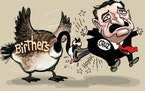 Sack cartoon: Ted Cruz