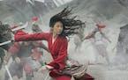"Yifei Liu stars as the title character in ""Mulan."""