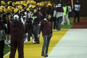 Gophers coach P.J. Fleck walked the sideline with his head down in the second half as Iowa extended its lead