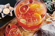 "Fireside Sangria from ""Winter Drinks."""