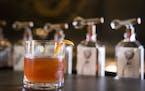 LEILA NAVIDI • leila.navidi@startribune.com  Helgolander, Dampfwerk's herbal liqueur, makes an appearance in a Bitter Guiseppe.