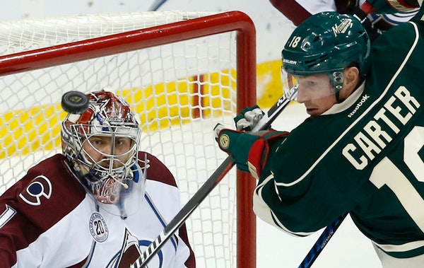 NHL veteran winger Ryan Carter, four months after surgery to repair a torn labrum in his right shoulder, will be attempting a comeback with the Wild,