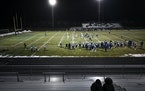 Champlin Park played White Bear Lake in a Class 6A football playoff game on Tuesday, Nov. 17, 2020 at Champlin Park High School in Champlin, Minnesota