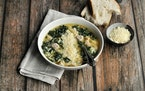 MEREDITH DEEDS • Special to the Star Tribune Italian Wedding Soup is the perfect way to use leftover turkey.