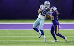Film review: How crossed wires busted the Vikings secondary again in Cowboys loss